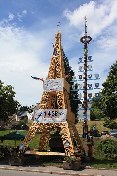 Der Eiffelturm in Schönwald