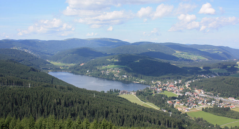 Titisee Blick on multimedia