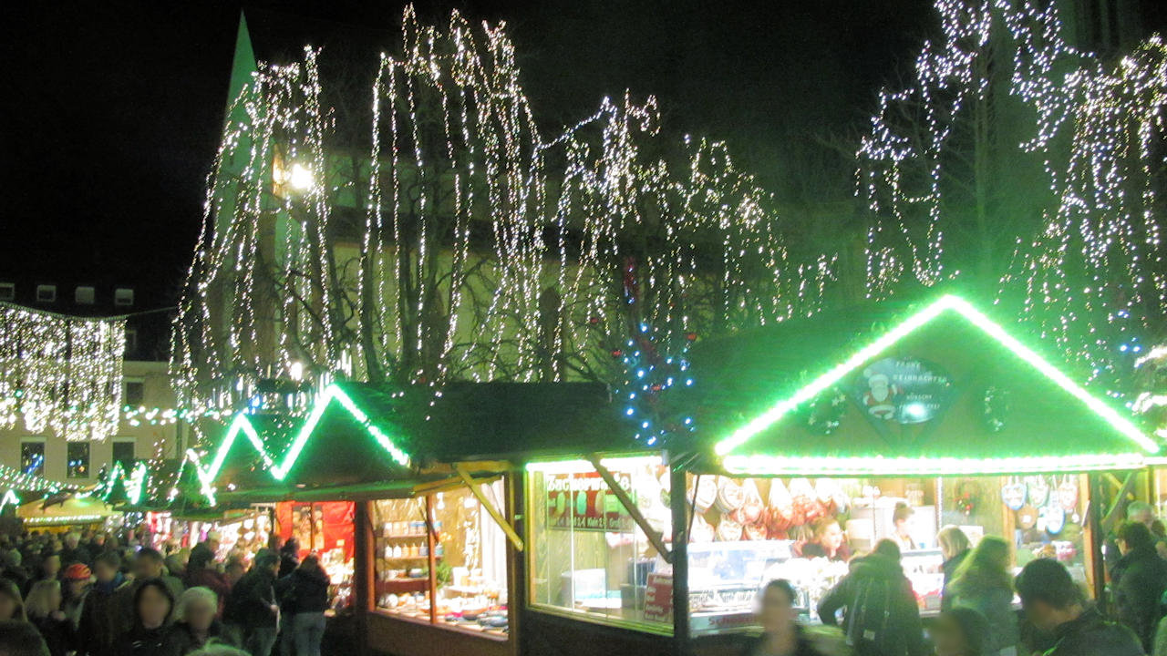 Pforzheimer Weihnachtsmarkt.Weihnachtsmärkte Im Schwarzwald