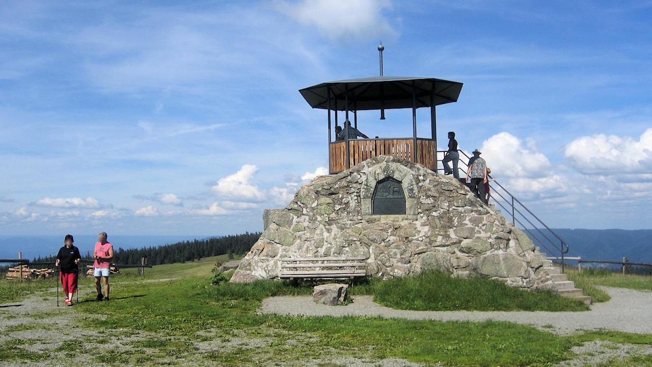 Berge Um Freiburg Karte.Der Kandel Aussichtsberg Im Mittleren Schwarzwald