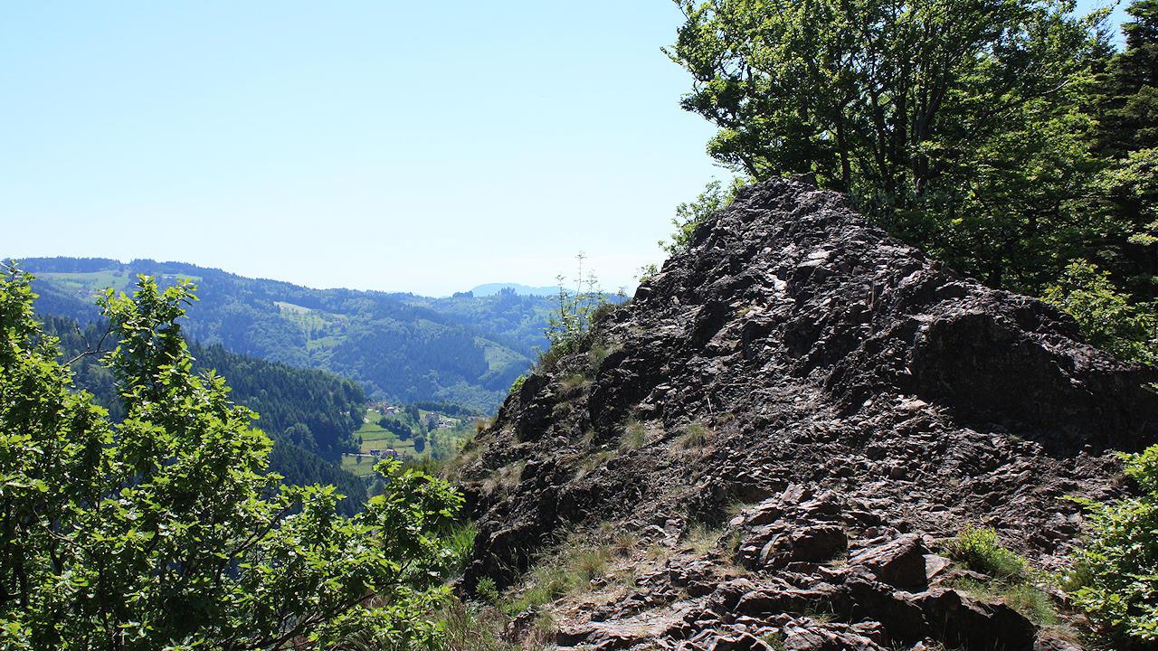 Klettersteig Schwarzwald : Der karlsruher grat klettersteig im nordschwarzwald
