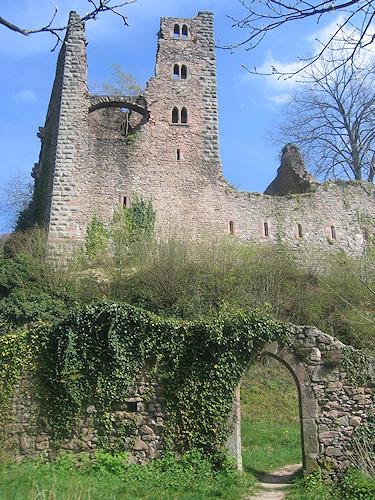 château de Schauenburg (Offenburg-Oberkirch) photo: suivez le lien