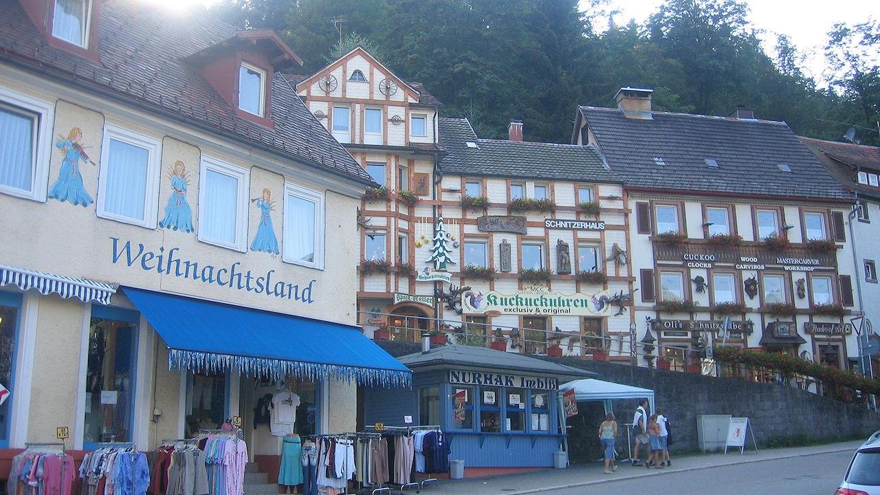 Triberg im Schwarzwald Kaltwintergarten